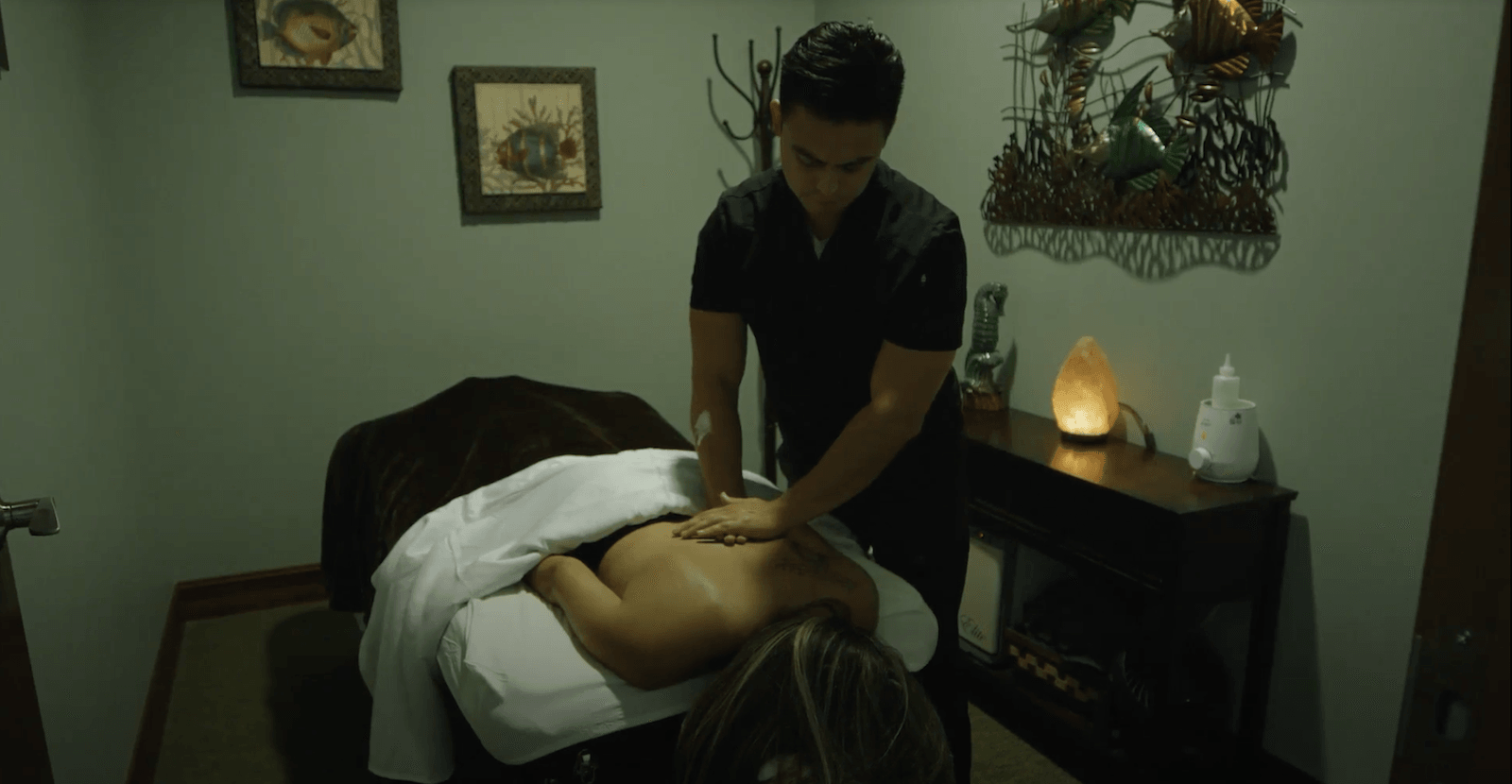 Massage Therapy Services Background
