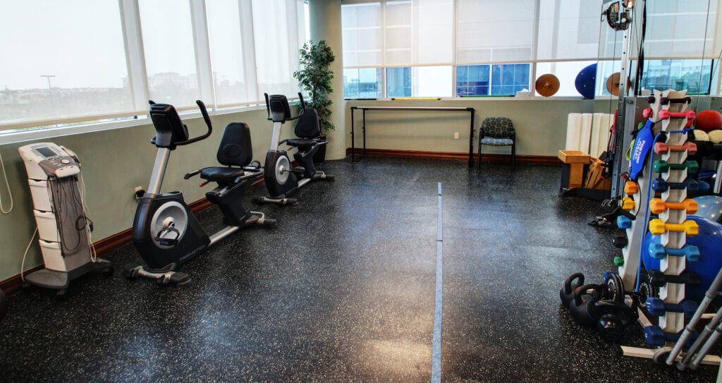 Physical Therapy room at Tradition