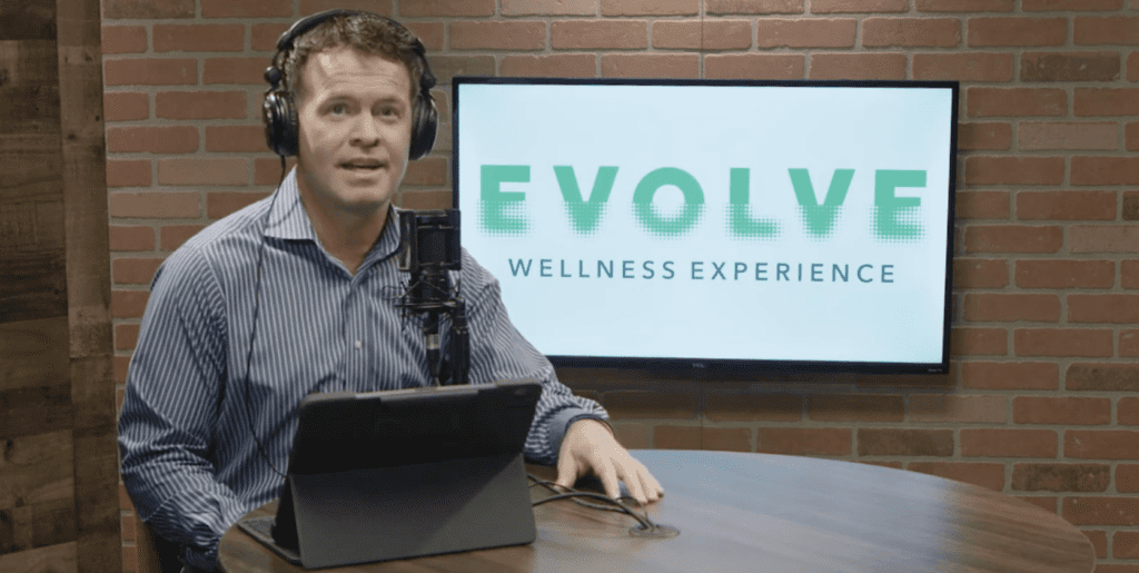 Evolve Podcast with Dr. Bill Jensen Background Image