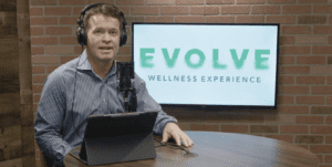 Evolve Podcast with Dr. Bill Jensen Background Image