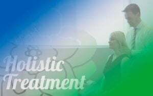 Holistic Treatment blog post graphic