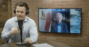 Podcast show still of Dr. Jensen and Dr. Neubauer