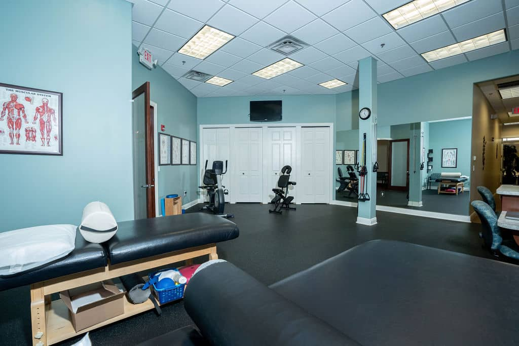 PWC East Physical Therapy Room